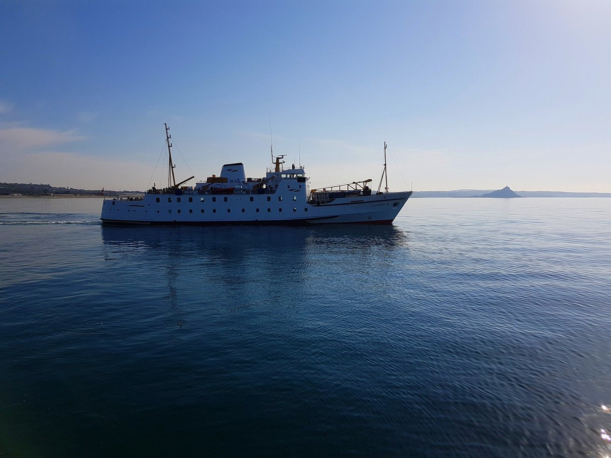 The Steamship Group are thinking about freight vessels as well as passenger ships, including areplacement plans for inter-island freight boat, Lyonesse Lady.