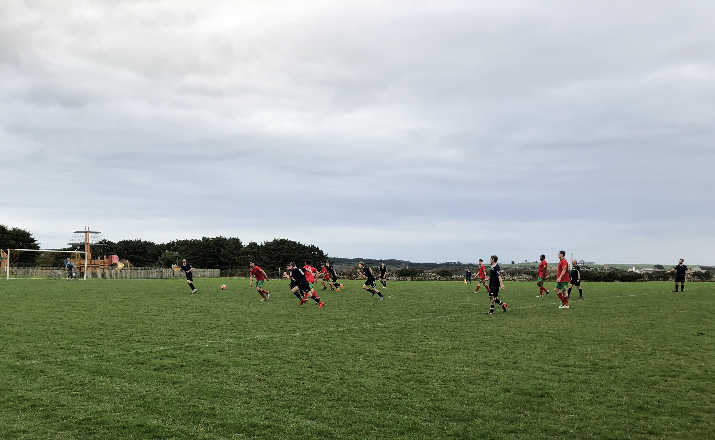 All 5 goals came in the second half, which the Wanderers dominated. They did have an extra man for the majority of the game, which proved to be the real difference.