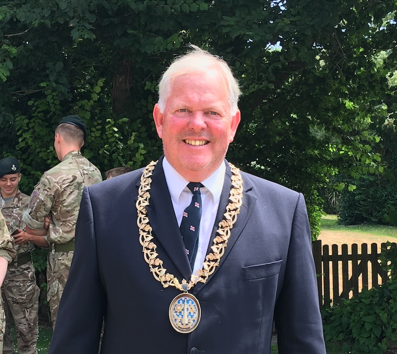 After being sworn in, Cllr Francis said the Council is coming out of a difficult period.