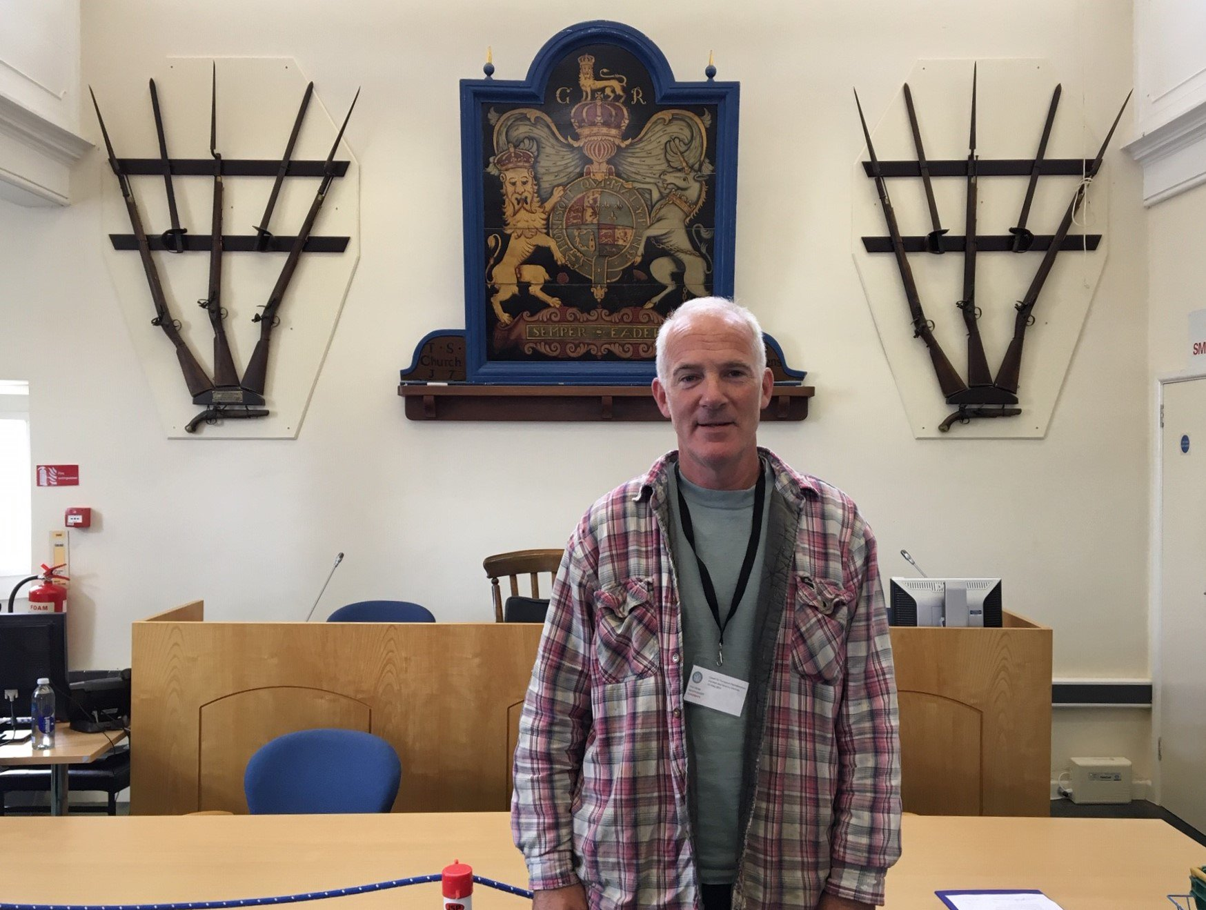 Tim Dean told Radio Scilly that he will do his best to justify the faith shown in him by the island's population. Image courtesy of the Council of the Isles of Scilly.