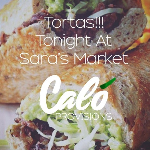 Last pop up of the year going down tonight @sarasmarket starting at 6pm and running til we sell out. We will have a tecate braised beef shank or mushroom adobo with black bean purée, queso chihuahua, lettuce, guacamole, and salsa macha.