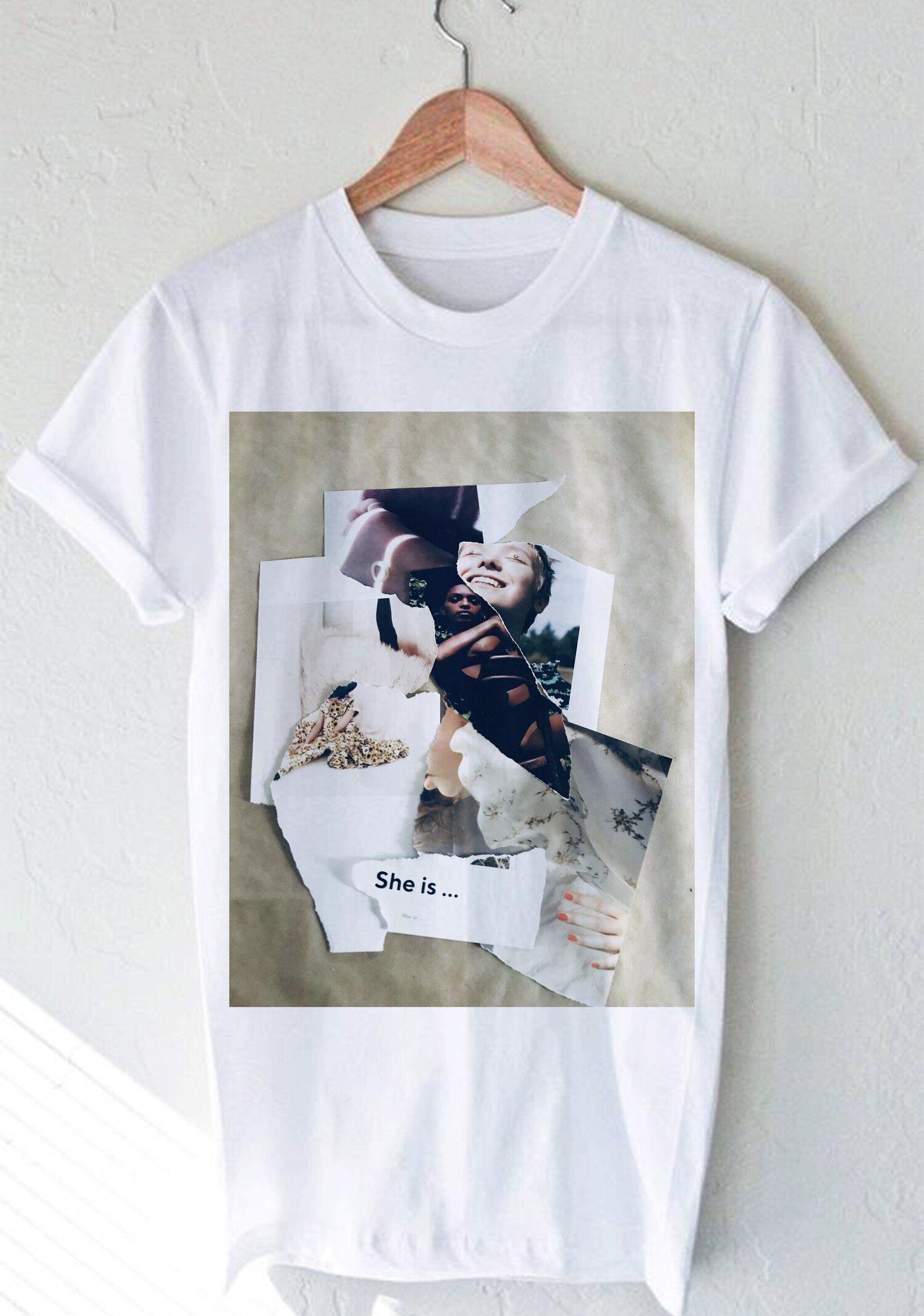 Collage Art T Shirt Designs Myrna