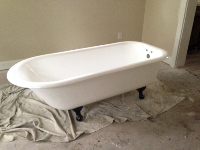 My first tub redo - a 6' and change BEAUTY!