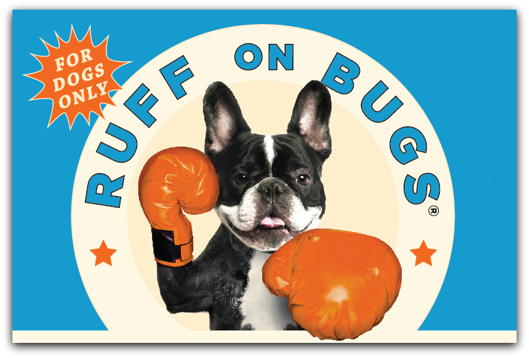 True Goodness. - Made with freshest, highest grade essential oils Ruff on Bugs is 100% Organic and All Natural.It's Non-GMO. It's Vegan. And of course it's Cruelty-Free! -- because it's all about protection, while doing no harm.Ruff on Bugs--gentle on dogs, and gentle on the environment. Safe enough to use on yourself!