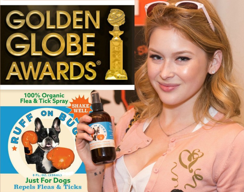 Featured in the 2017 Golden Globes celebrity gift bags - *with actress Renee Olstead