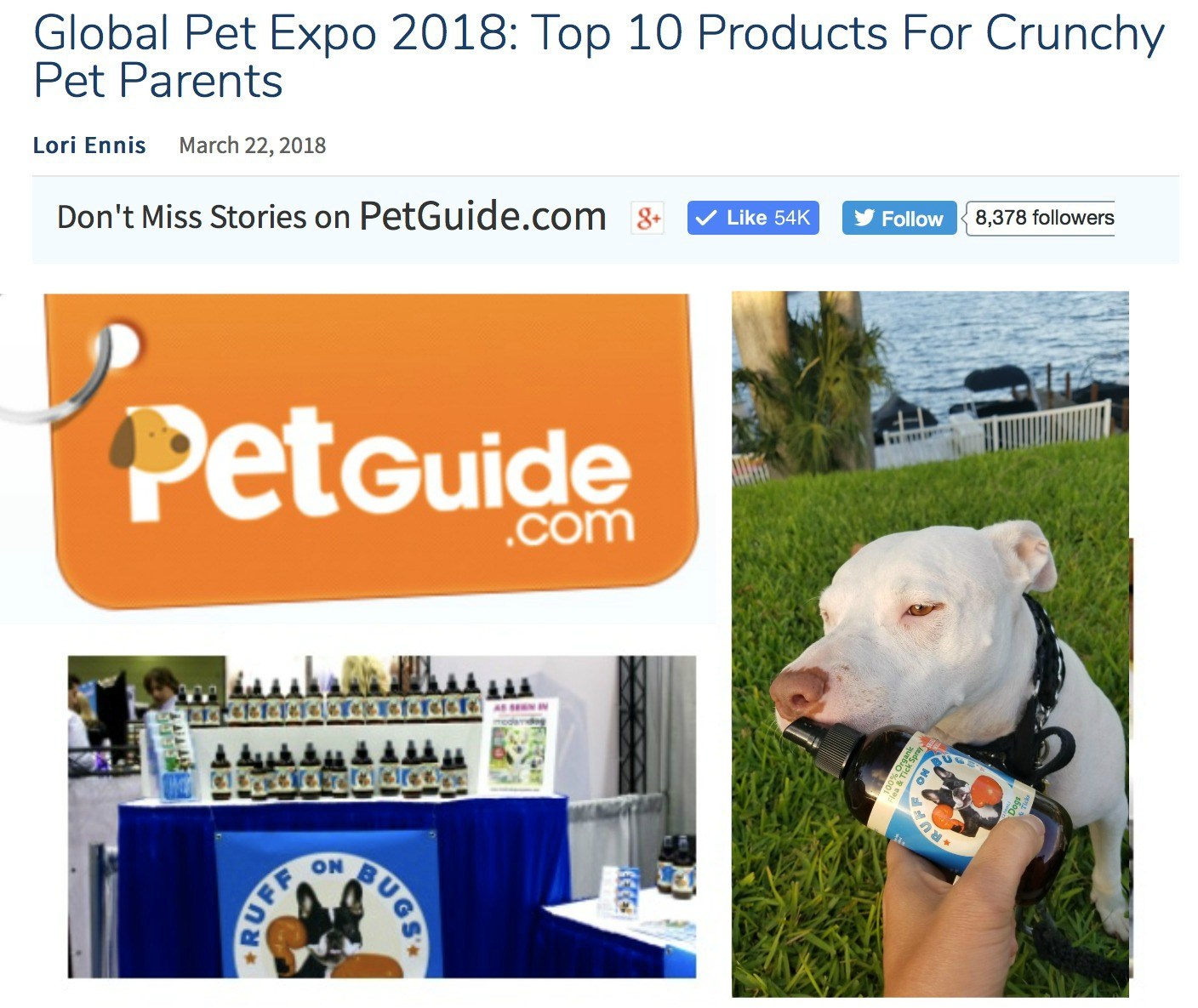 Chosen in TOP TEN From Thousands of New Products! - by PETGUIDE.com