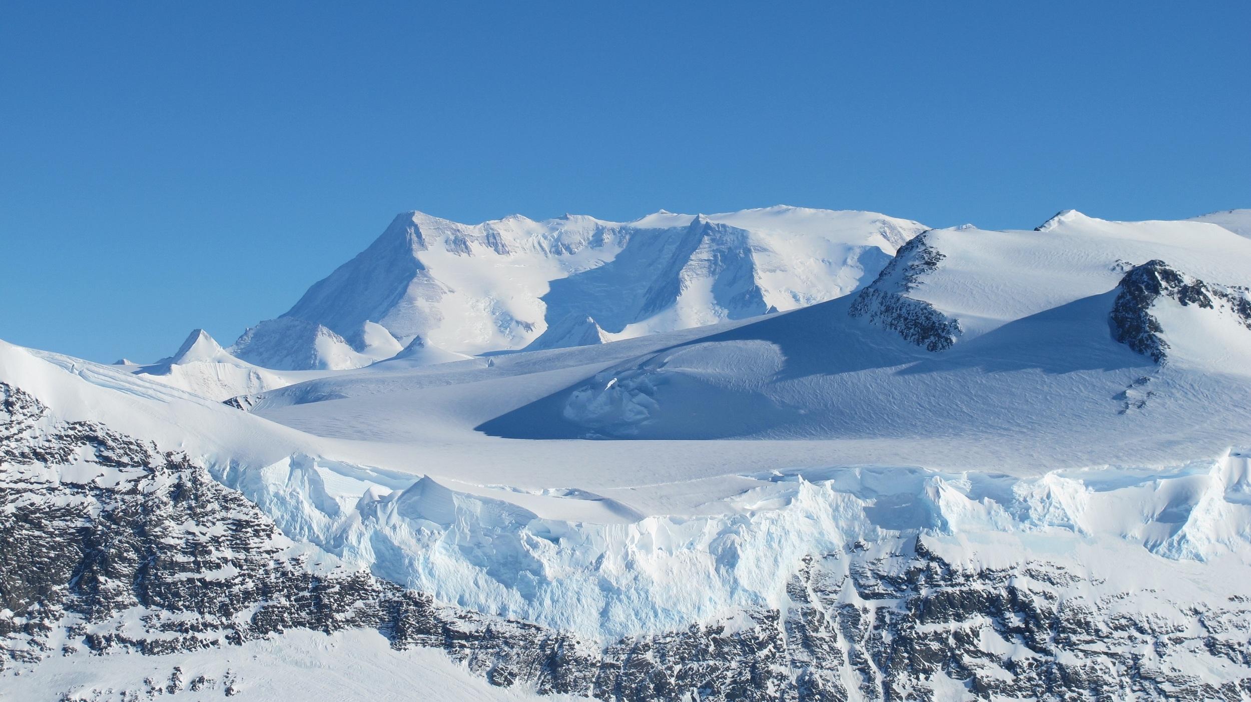 Vinson, Antarctica – 16,067' (4897m