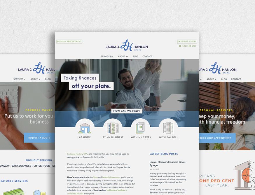 Laura Hanlon CPA Website