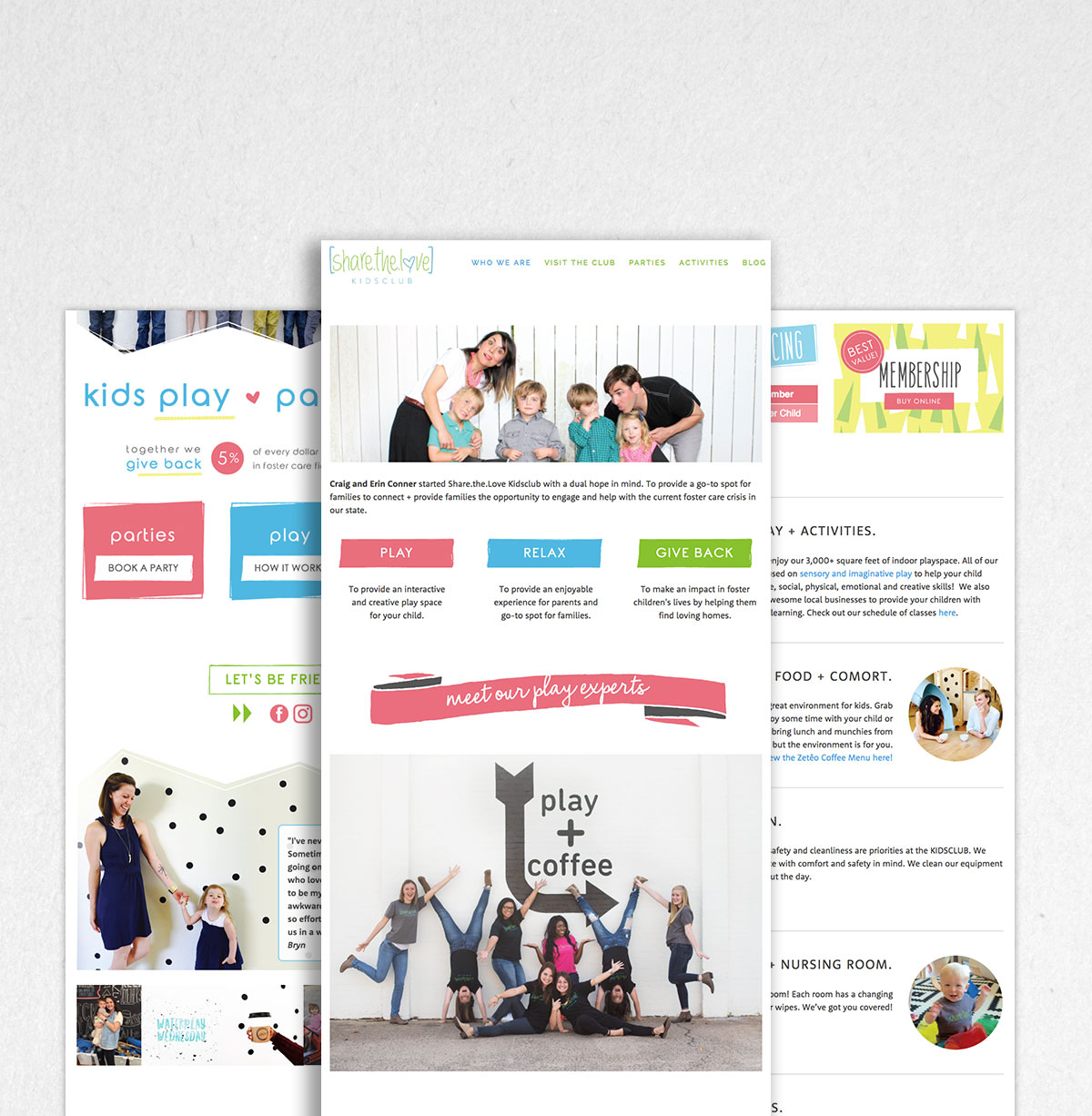 Silverlake Web Design - Share the Love About Page
