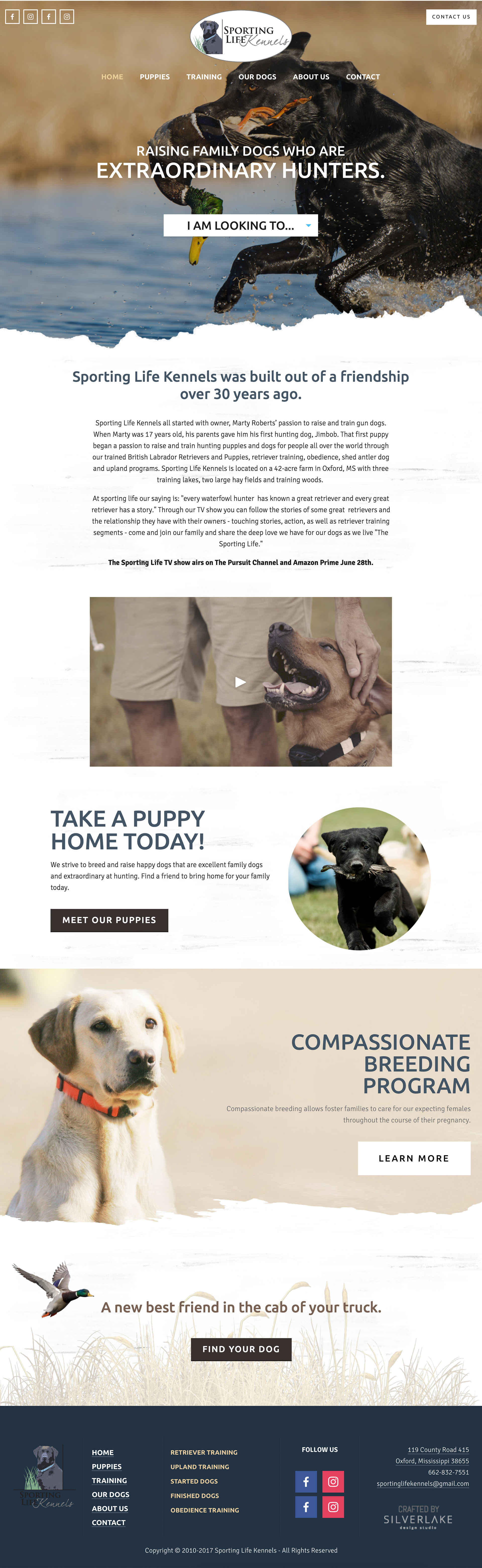 Sporting Life Kennels