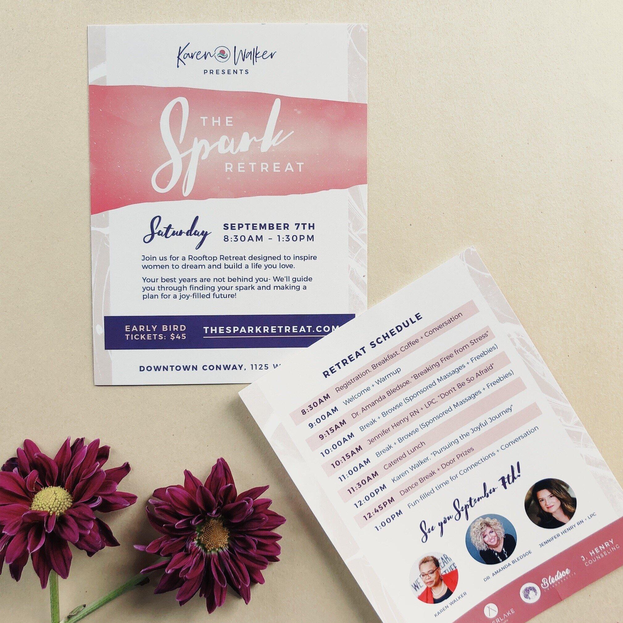 Spark Retreat postcards by Silverlake