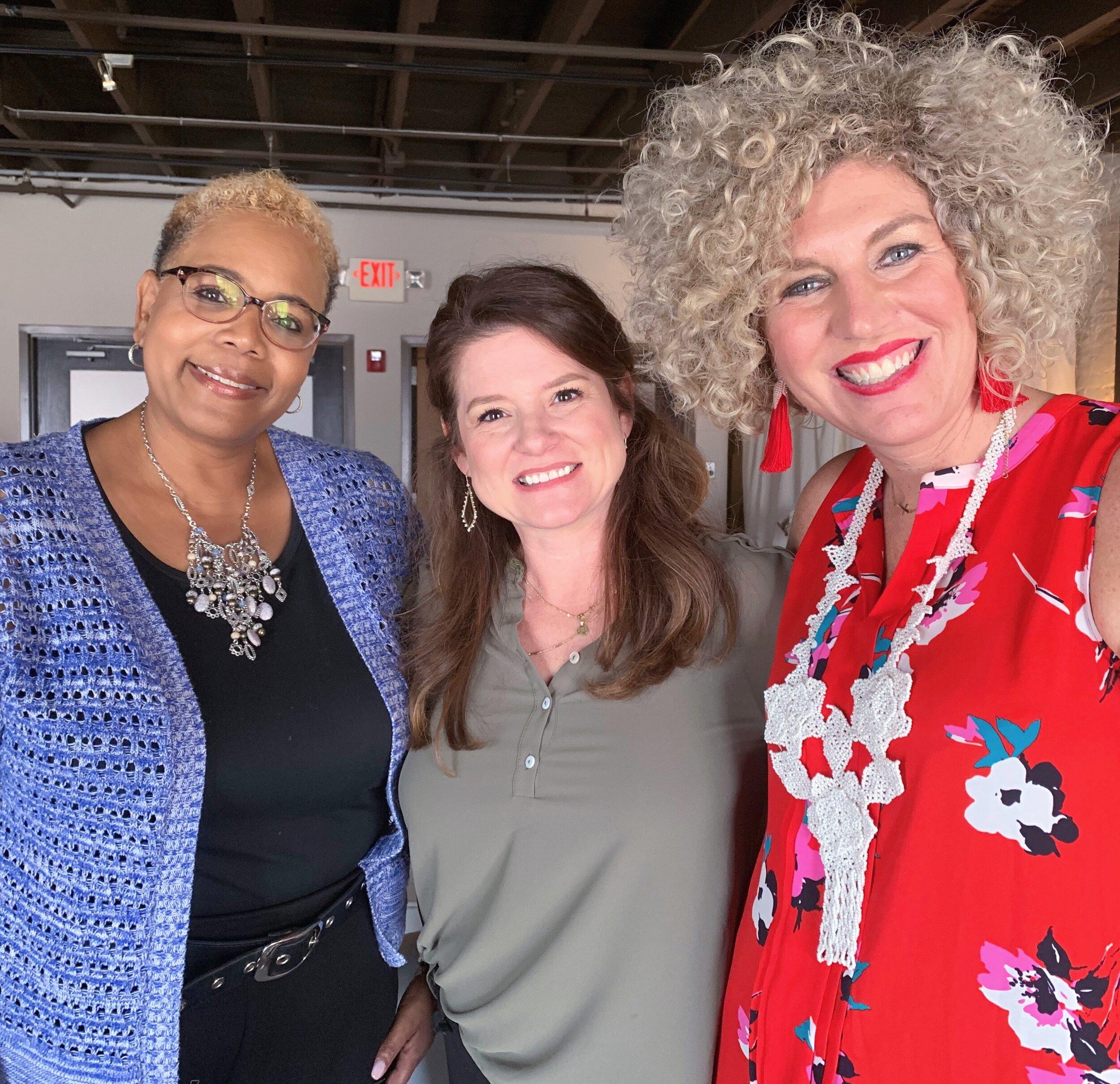 Karen Walker, Jennifer Henry RN + LPC, Dr. Amanda Bledsoe