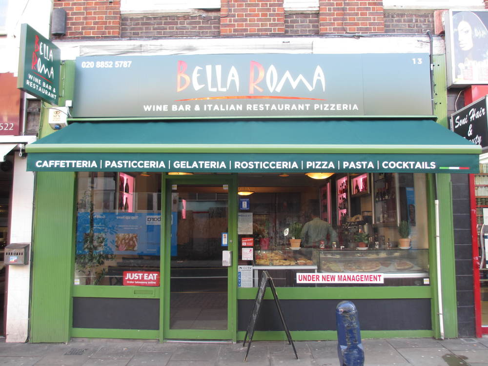 Bella Roma Italian Restaurant Lewisham South London Club