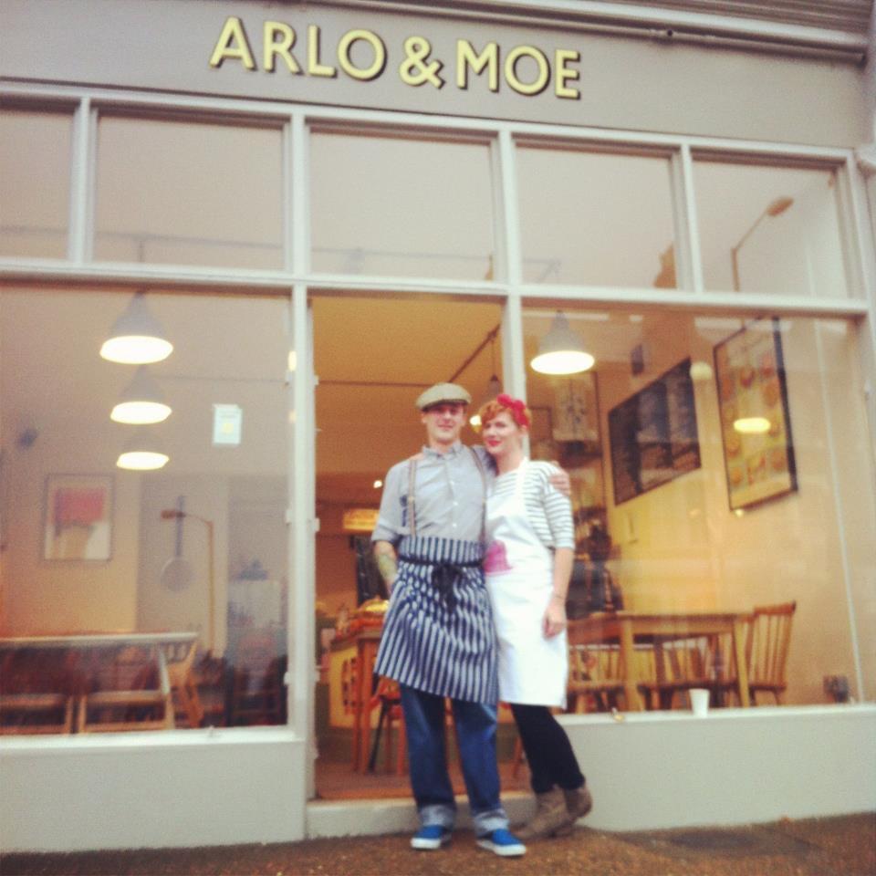 Arlo And Moe Menu Crofton park South London Club