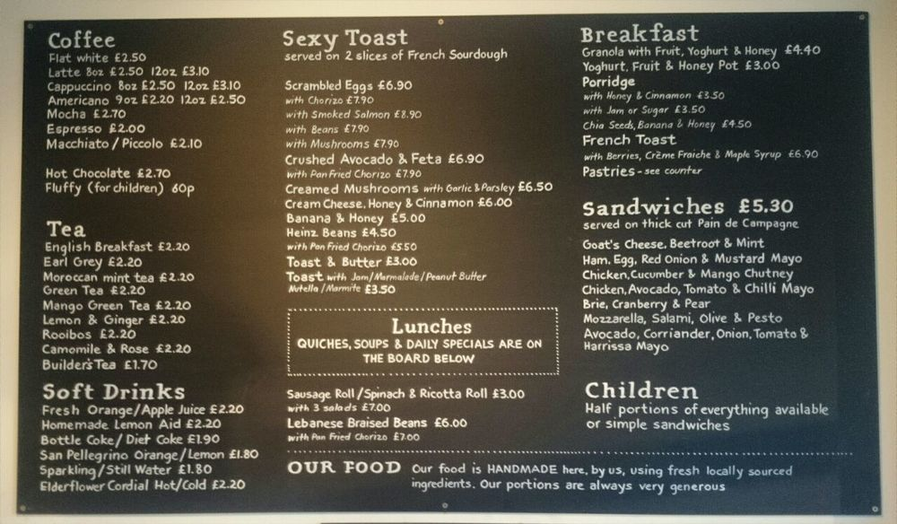 Arlo And Moe Hither Green Menu South London Club