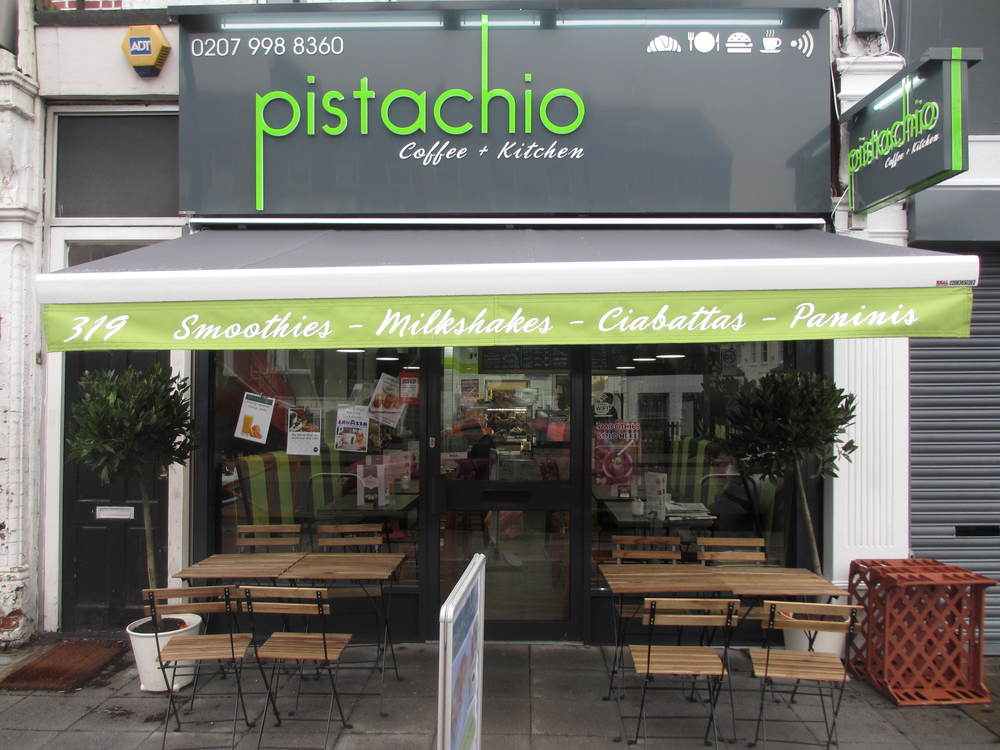 Pistachio Coffee And Kitchen In Brockley.