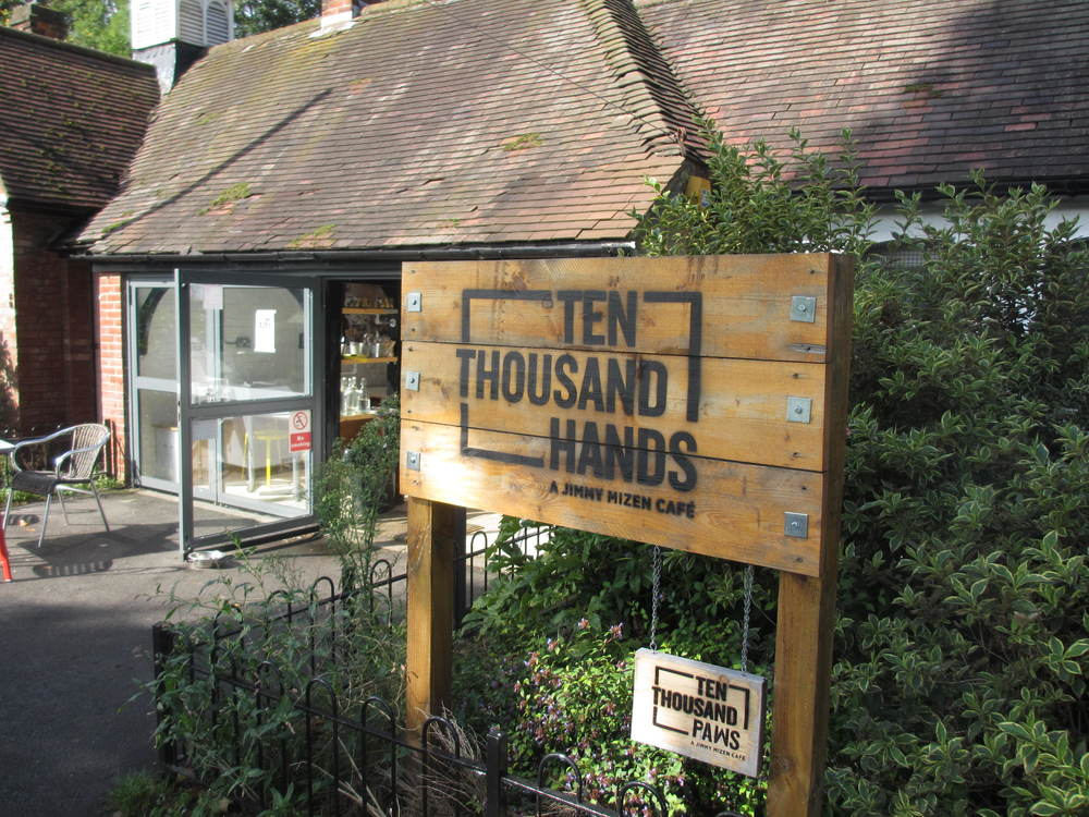 Ten Thousand Hands Cafe In Ladywell Fields South London Club