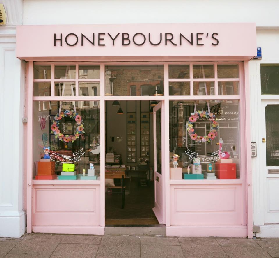 Honeybourne's Gift Shop In Ladywell South London Club