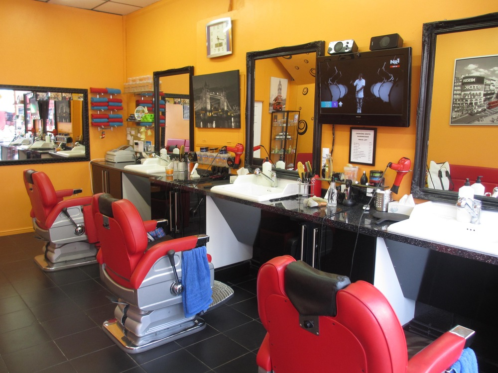 Charisma Barber shop in Sydenham South London Club