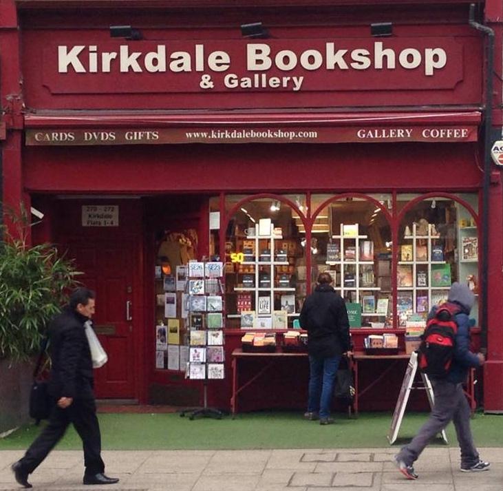 Kirkdale bookshop In Sydenham South London Club