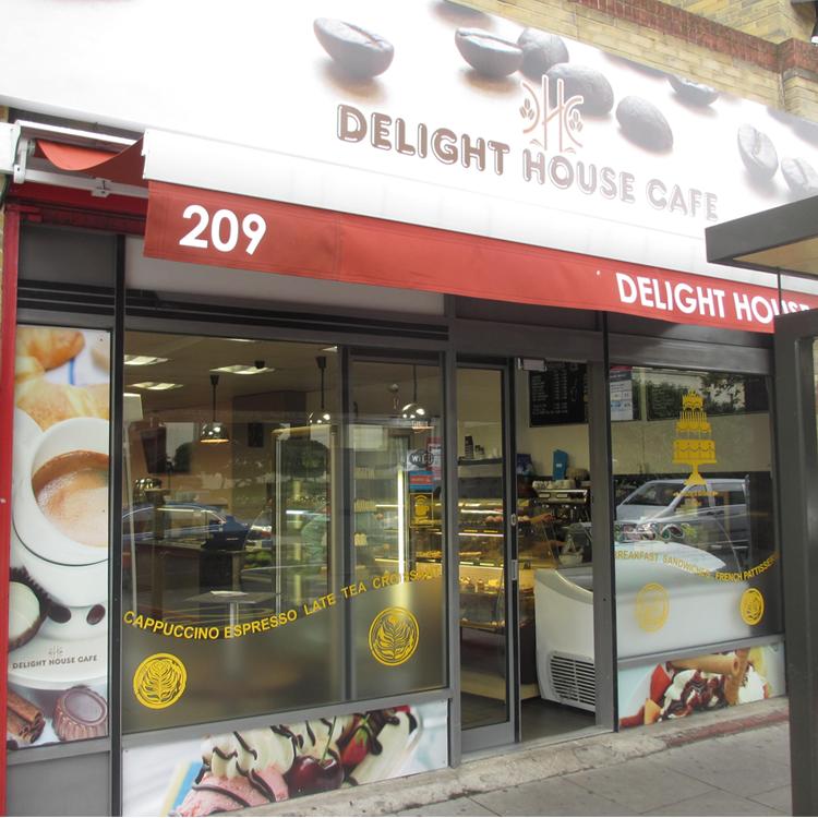 Delight House Cafe On Lewisham Way South London Club