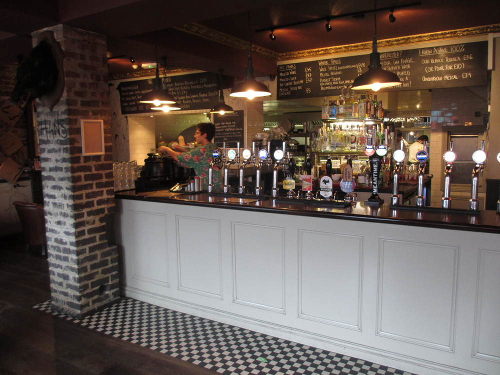 The Rose Pub And Kitchen In New Cross South London Club