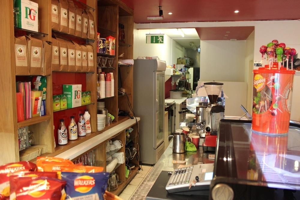 Raz'z cafe In Catford South London Club