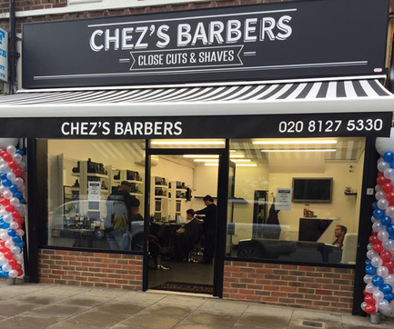Chez's Barbers In Catford South London Club