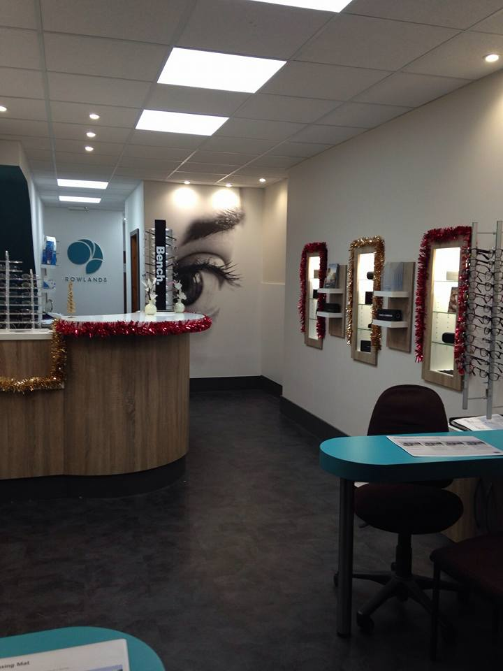 Rowlands Opticians In Catford South London Club Card