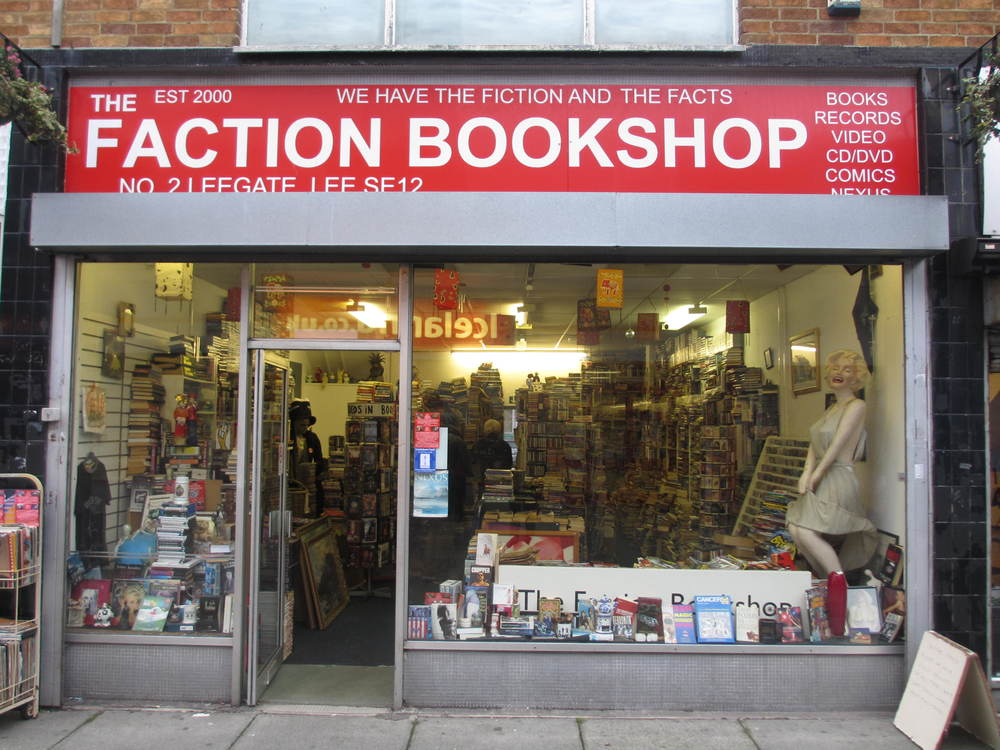 Faction Bookshop In Lee South London Club