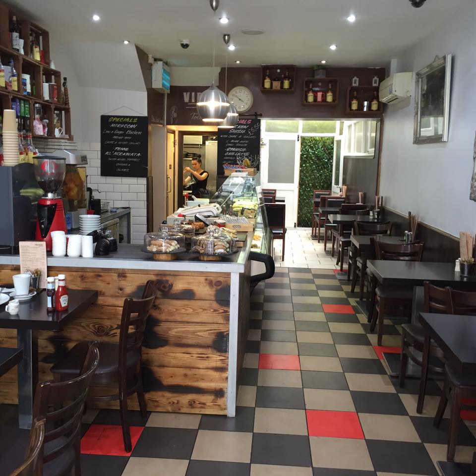 Cafe Pronto Cafe in Camberwell South London Club Card 4