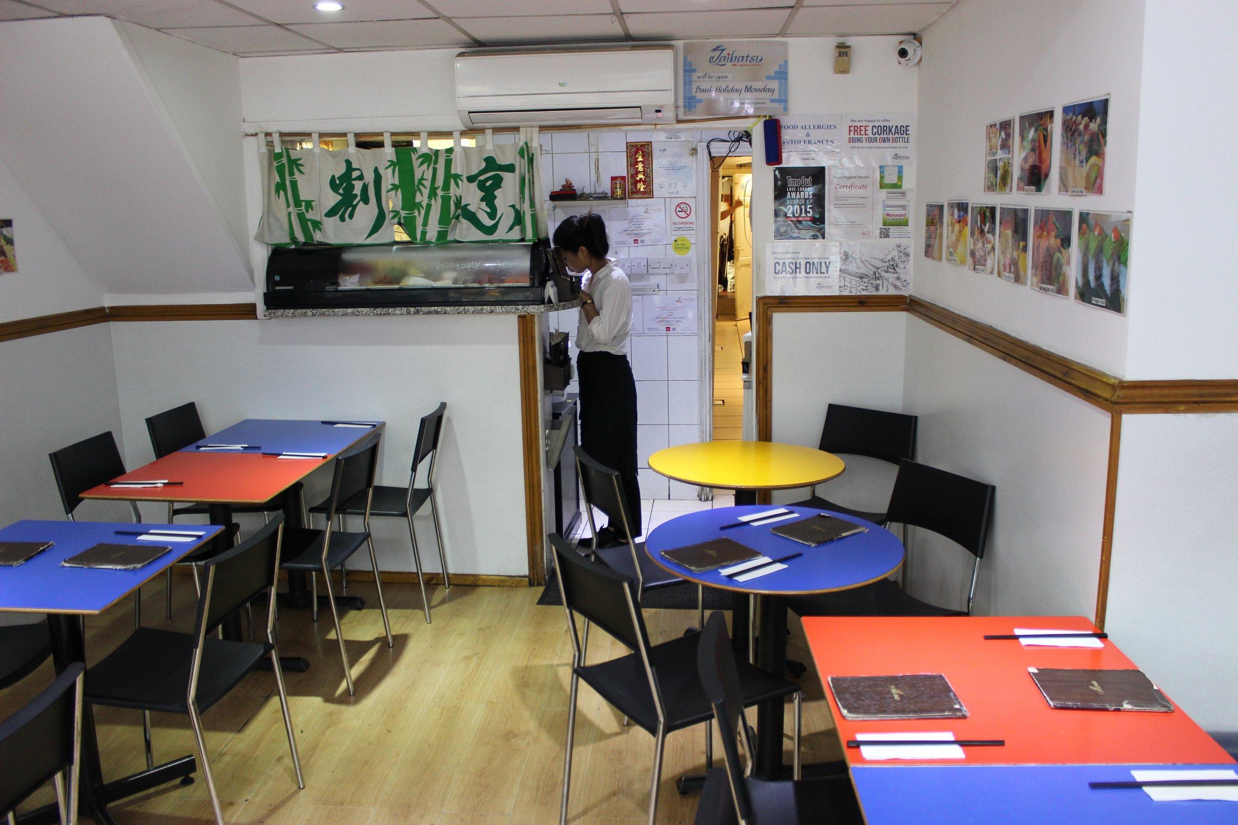 Zaibatsu Pan-Asian Restaurant in Greenwich South London Club