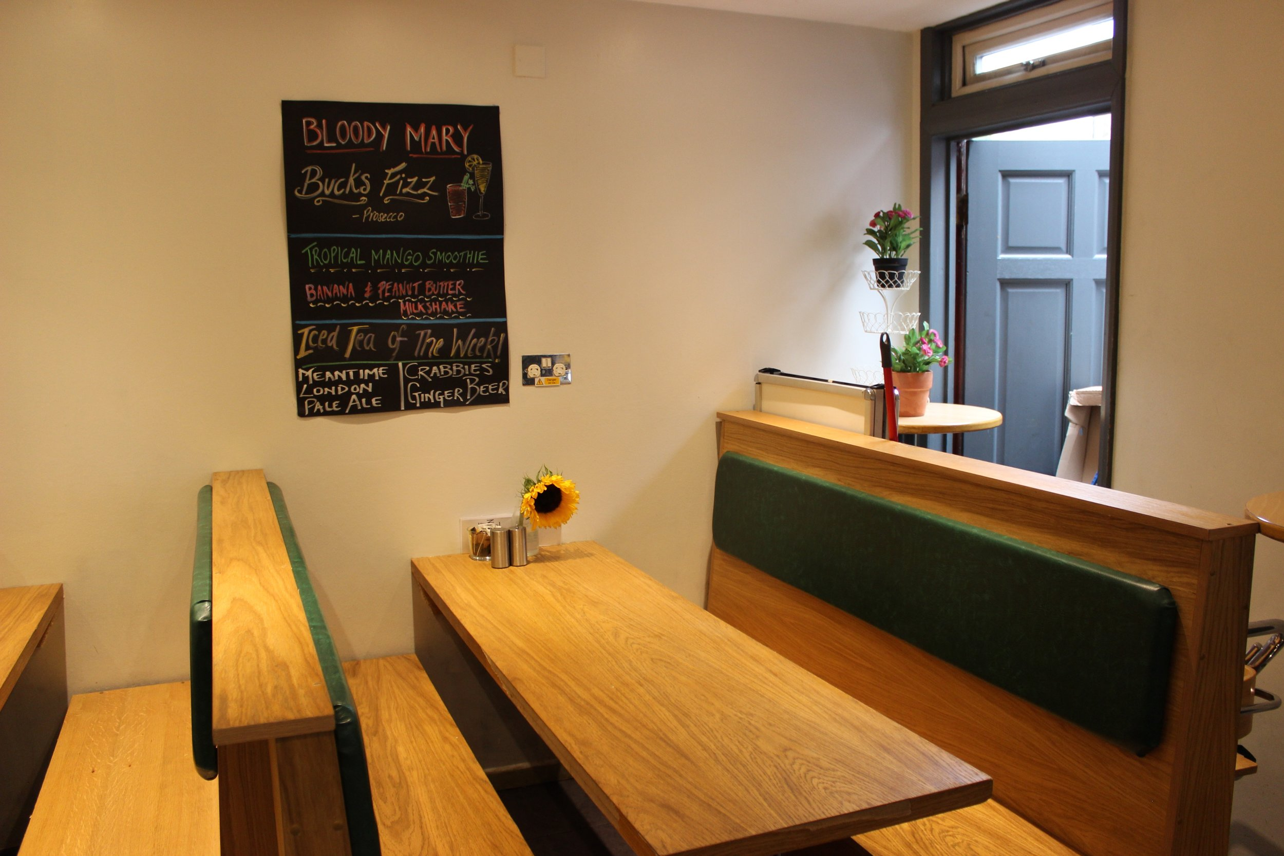 The Green Cafe in Greenwich South London Club