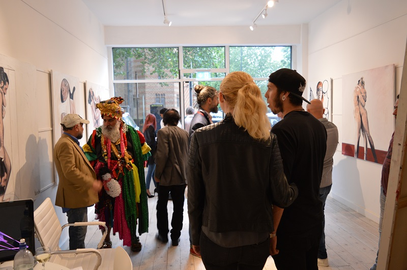 The Bermondsey Gallery Art Gallery & Framing Shop in Bermondsey South London Club