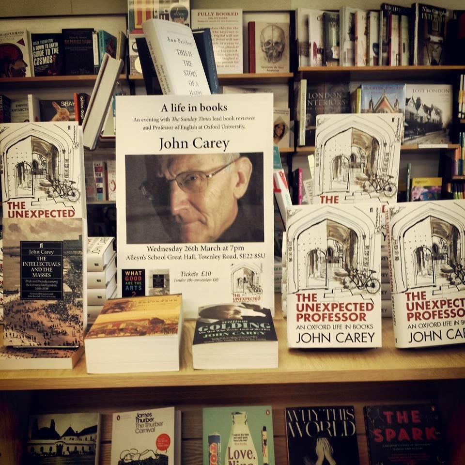 Dulwich Books Bookshop in Dulwich South London Club