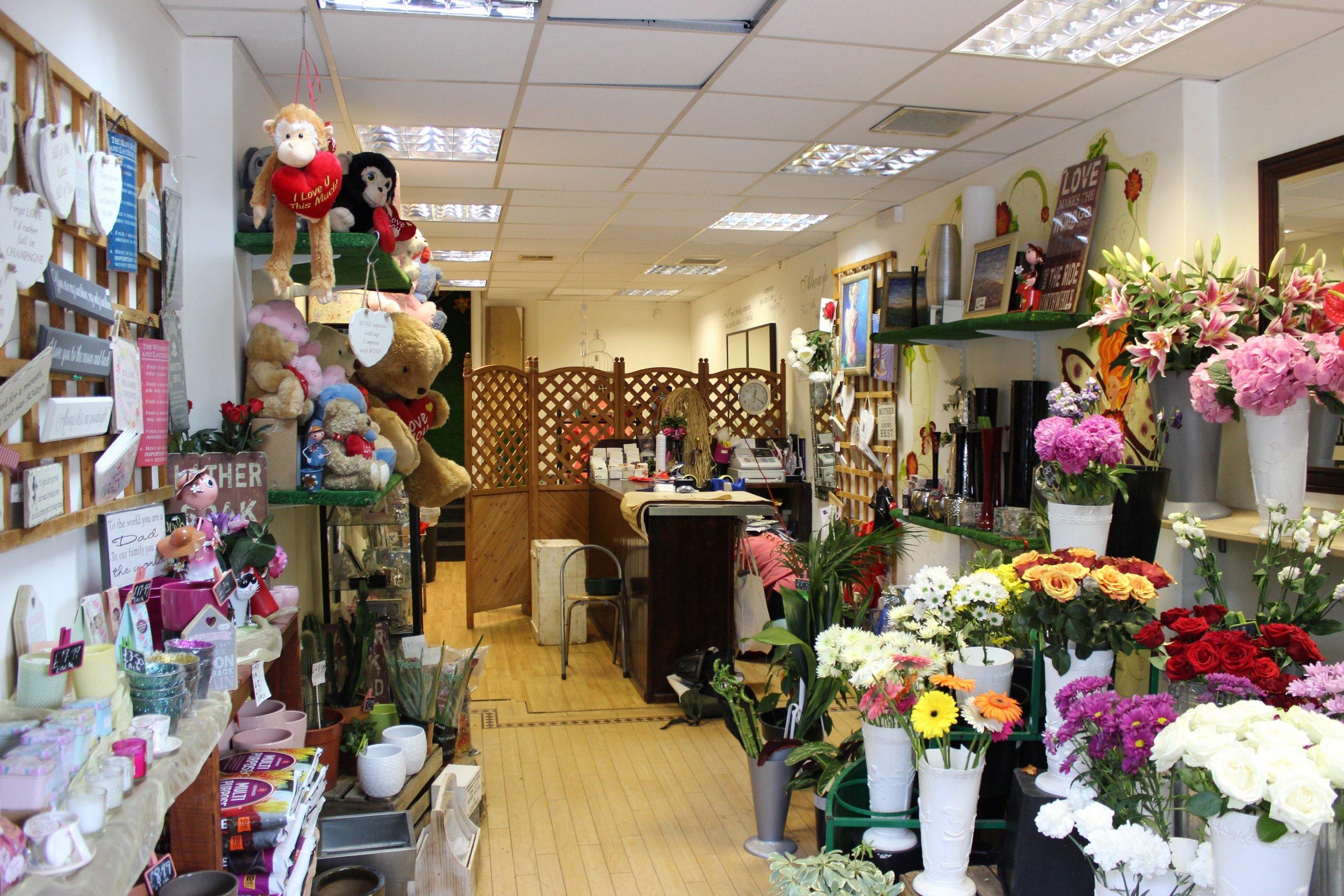 Janet Edward's Florist in Brixton South London Club