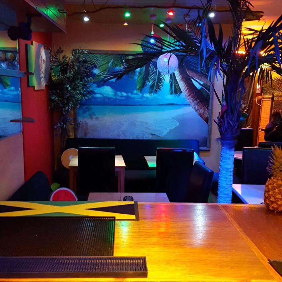 Cummin' Up Caribbean Takeaway Restaurant in New Cross South London Club