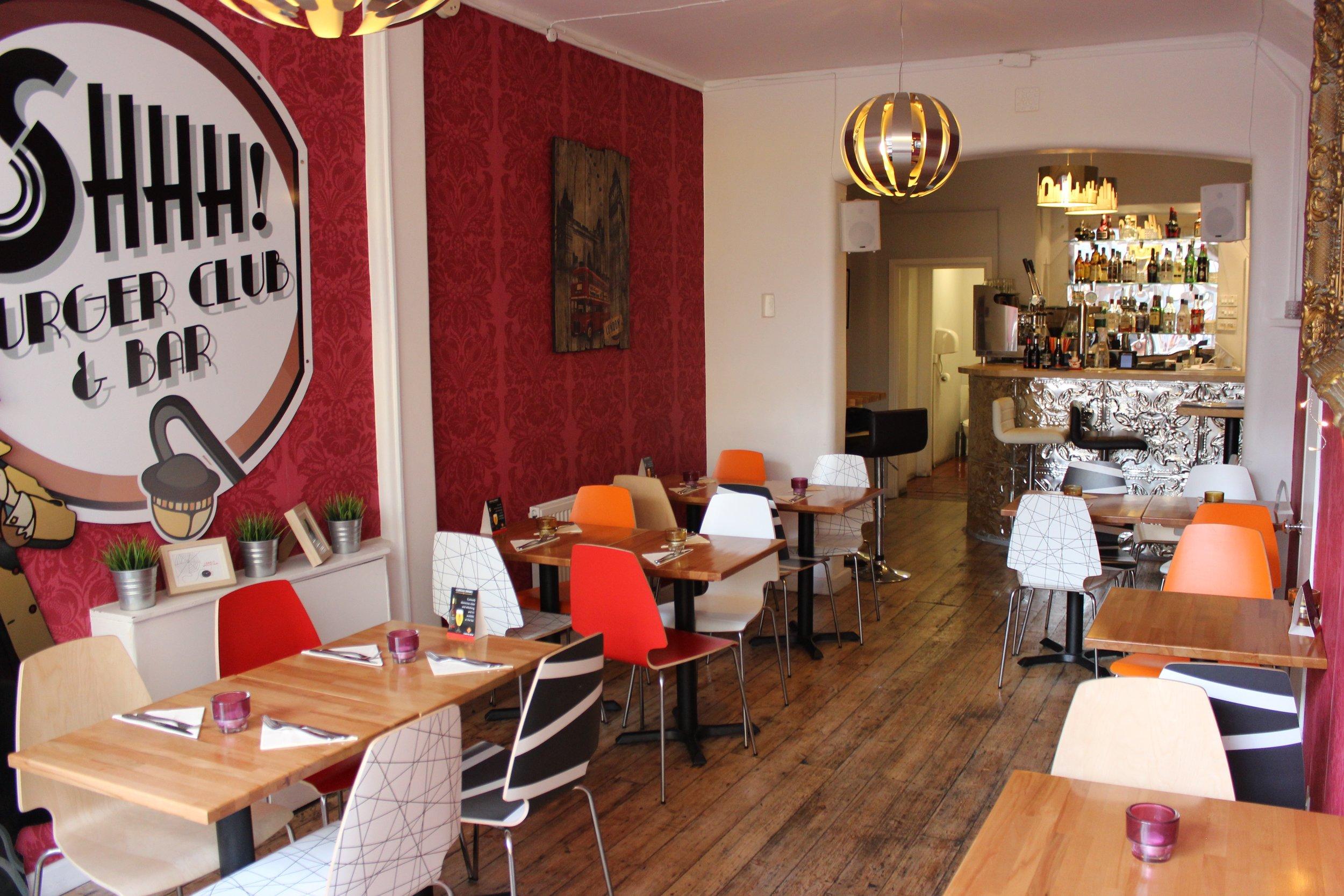 Shhh Burger Club & Bar Burger Restaurant in Brixton South London Club 5.jpg