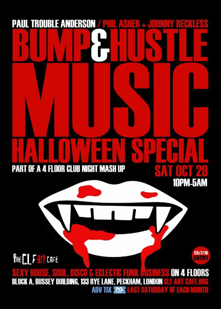 Halloween Peckham South London Club