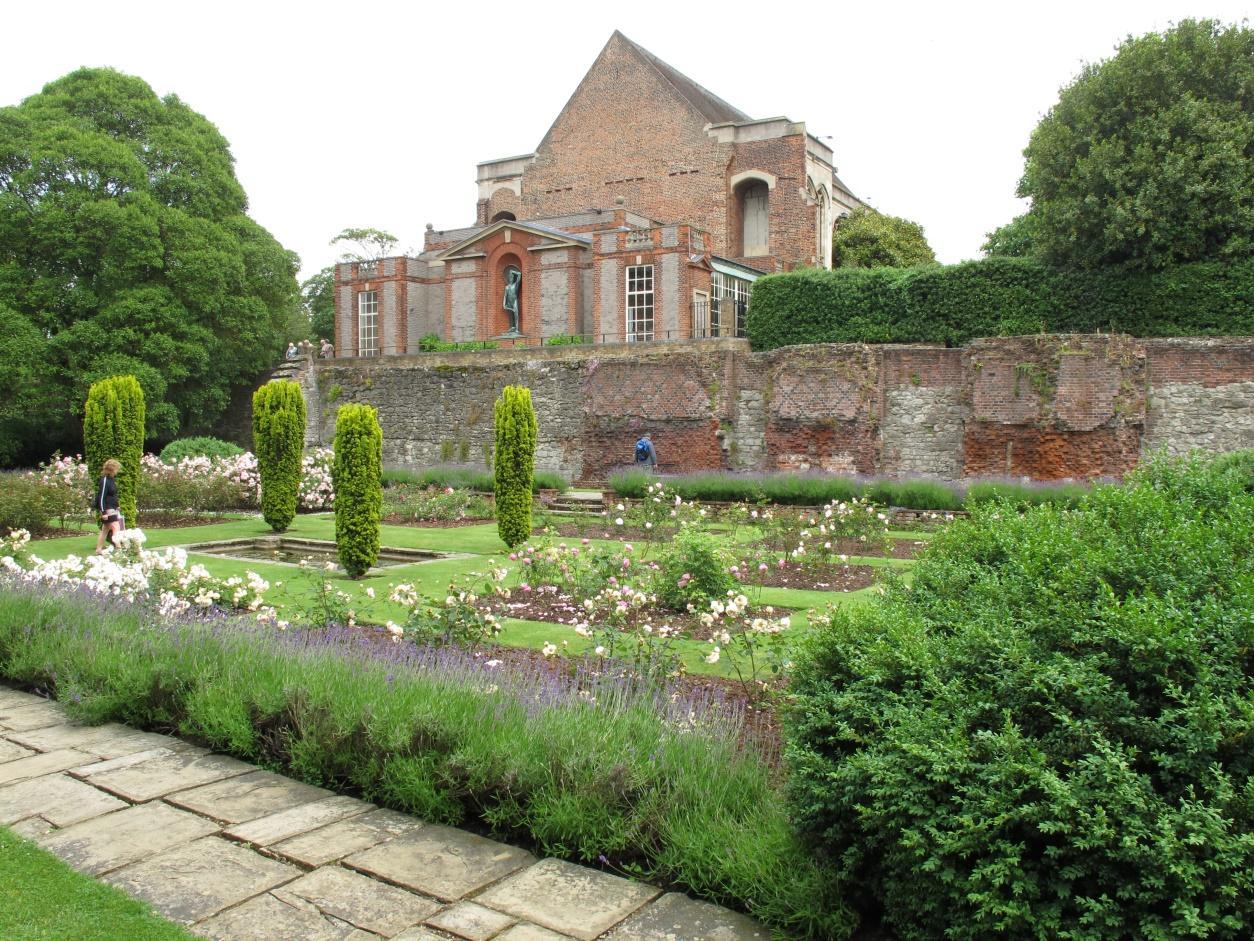 Eltham Palace Rose Garden