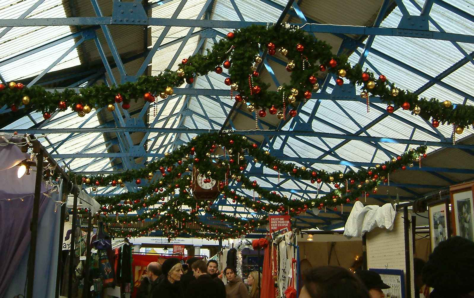 Greenwich Market at Christmas