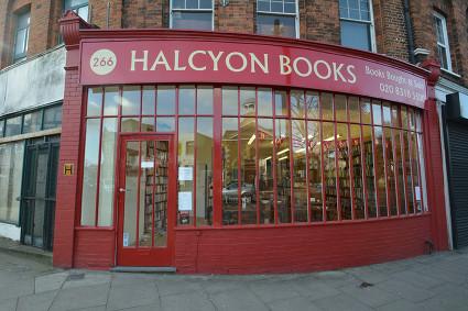 Halcyon Books,Lewisham.