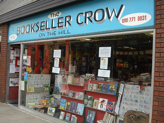 The Bookseller Crow South London Club