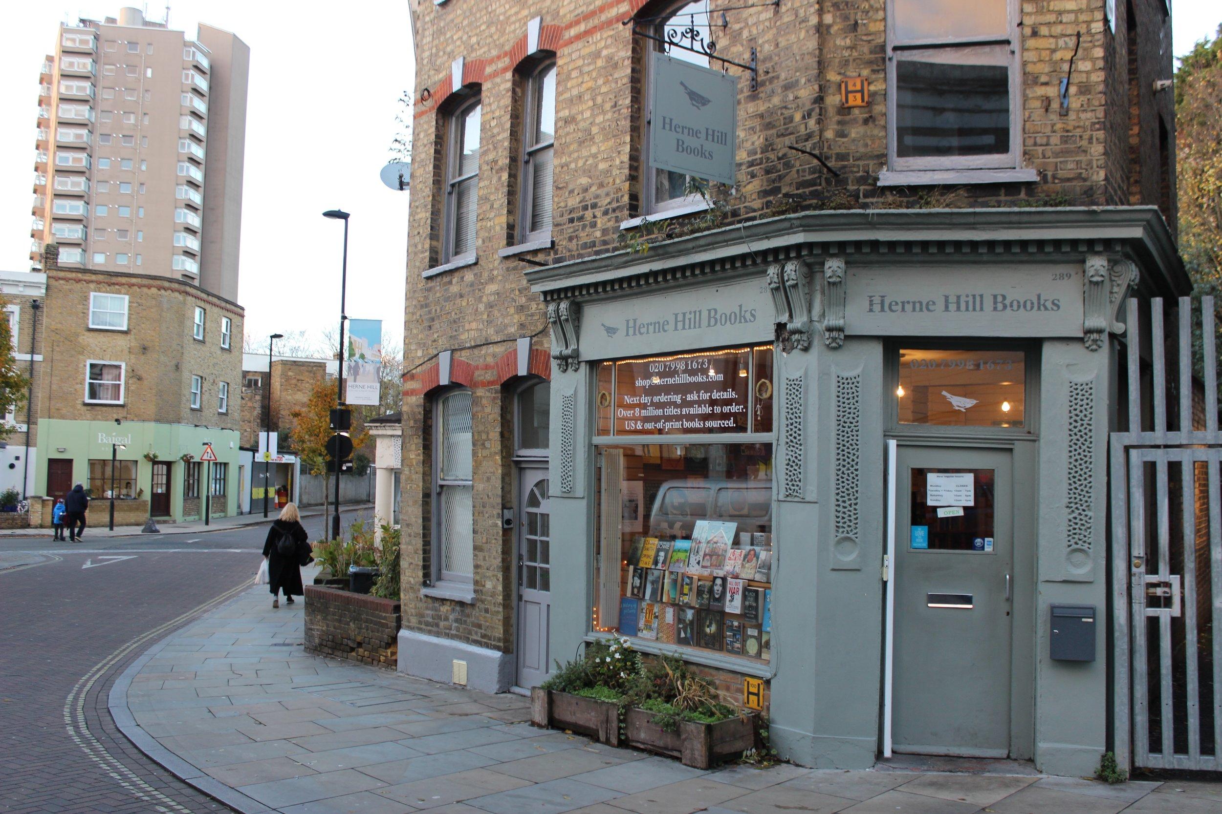Herne Hill Books Bookshop in Herne Hill South London Club .jpg