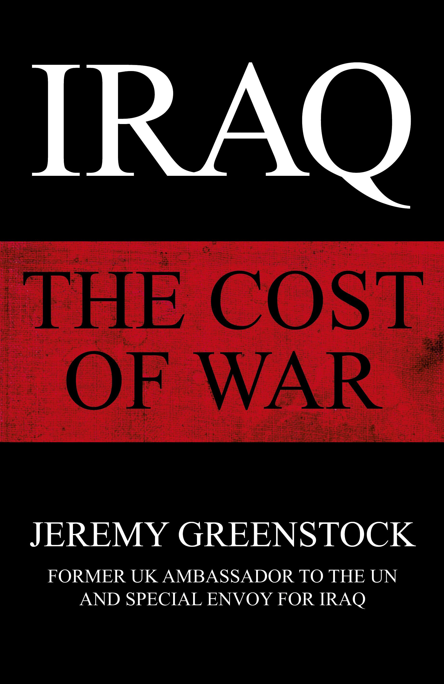 Jeremy Greenstock Iraq The Cost of War jacket.jpg