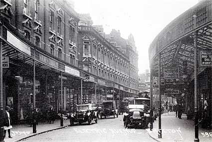 Electric avenue in 1921