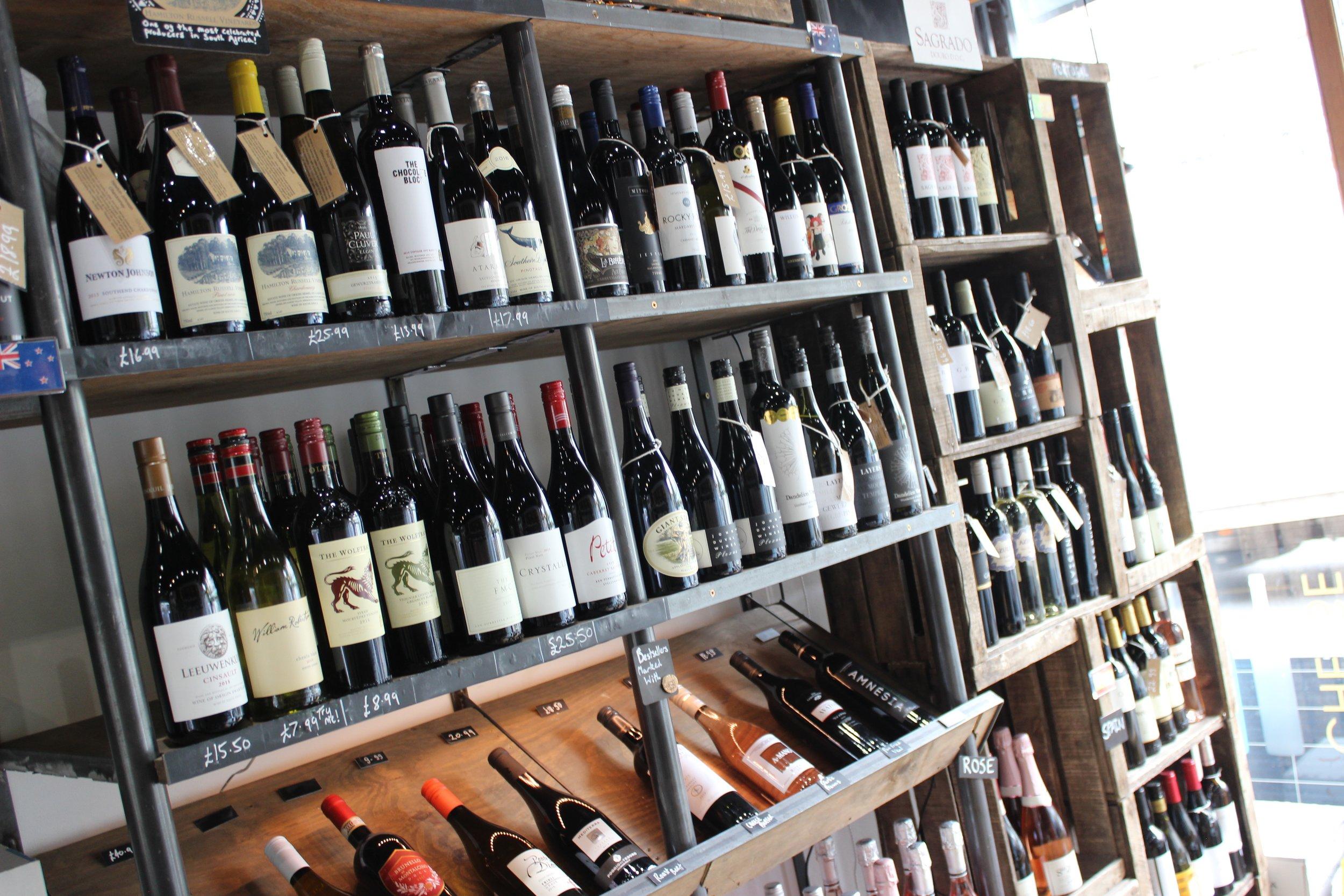 Glug Wine Bar and Shop in Putney South Lodnon Club Card 4.jpg