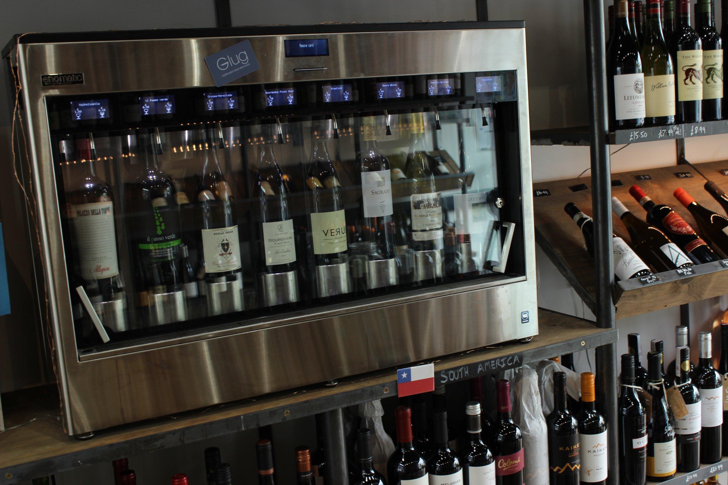 Glug Wine Bar and Shop in Putney South Lodnon Club Card 10.jpg