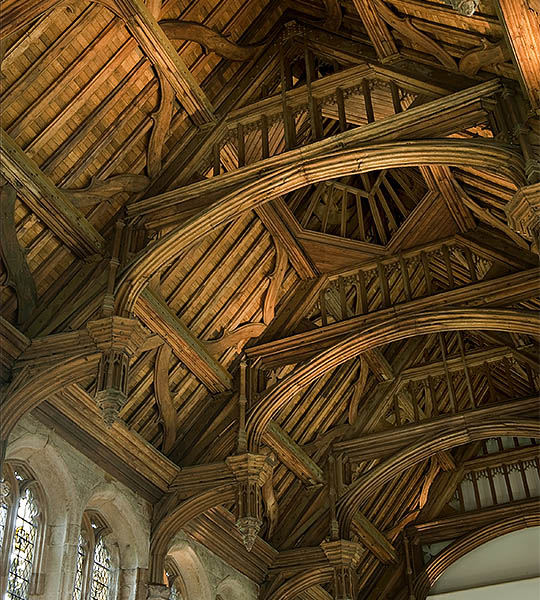 Great Hall Roof  Photograph: English Heritage