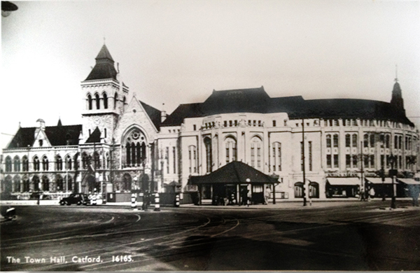 Broadway Theatre Catford South London Club